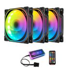 Meilleurs prix Coolmoon 12cm RGB Computer Case Cooling Fan Quiet Chassis Fan Computer PC Cooler for PC Computer Case CPU