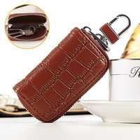 Genuine Leather Key Holder Car Key Case Bag