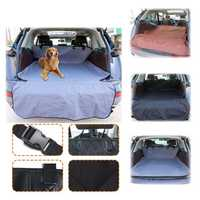 Car Pet Trunk Mat Cover Tarpaulin Waterproof Oxford Cloth Trunk Back Seat Protector