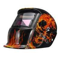 Pro Solar Auto Darkening Welding Helmet Tig Skull Grinding Visor Mask Protective