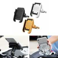 Aluminum Bicycle Bike Motorcycle Handlebar Holder Mount Stand For Mobile Phone
