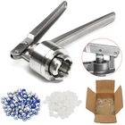 Offres Flash 20MM Manual Crimper Hand Seal Ring Machine Tool with 100 Vials + Stoppers + Caps