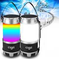BIKIGHT Wireless bluetooth Speaker Outdoor Camping Hunting Cycling Portable Flashlight Emergency Light