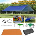 Les plus populaires 300x300cm Outdoor Camping Tent Sunshade Rain Sun UV Beach Canopy Awning Shelter Beach Picnic Mat Ground Pad Tent Sunshade