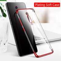 Bakeey Plating Transparent Soft TPU Protective Case for Xiaomi Mi9T / Xiaomi Mi 9T Pro / Xiaomi Redmi K20 / Redmi K20 Pro