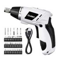 LIUMY 3.6 V 1300mAh USB Electric Screwdriver Cordless Power Screw Driver Tool With Screw Bits