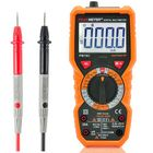 Prix de gros PEAKMETER PM18C Digital Multimeter Voltage Current Resistance Capacitance Frequency Temperature Tester ℃/℉ hFE NCV Live Line Tester