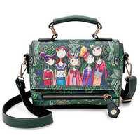 Women Bohemian Forest Series Print Crossbody Bags