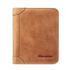 Meilleurs prix Genuine Leather Men Wallets Vintage Trifold Wallet Short Wallet Card Holder
