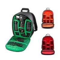 HUWANG 7460 Waterproof Multi-functional DSLR Video Photo Digital Camera Bag Padded Backpack