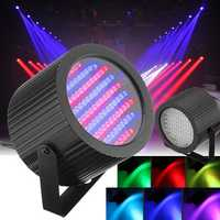 2pcs 86 LED RGB Sound Active Stage Light DMX DJ Disco Club Bar Strobe Lighting