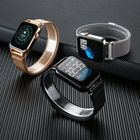 Offres Flash Bakeey Y6 Pro Fun Dynamic Icon Smart Watch HR Blood Pressure Stopwatch Music Weather Smart Watch