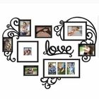 Meilleurs prix UK DIY Love Photo Picture Frame Kit Collage Black Gallery Wall Home Decor Gift