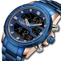 NAVIFORCE 9138S Waterproof LED Dual Digital Watch