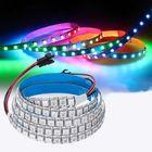 Meilleurs prix DC5V 1M 144LED WS2812B 5050SMD Built-In IC IP20 RGB LED Strip Light for Indoor KTV Hotel Bar Home