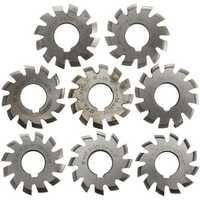 8pcs Module 1.75 PA20 HSS #1-8 Involute Gear Milling Cutter Inside Bore 22mm