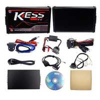 Red EU Version KESS V5.017 No Token Limit KESS V2 Manager with And KTAG V7.020 ECU Programmer Car Engine Diagnostic Analyzer