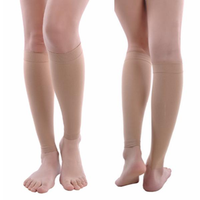 Compression Stocking Socks for Varicose Veins Relief Fatigue Below Knee Leg Therapy 30-40 Mmhg