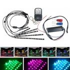 Recommandé 18Colors Waterproof LED Motorcycle Engine Chassis Lights RGB 5050 Flexible Strip
