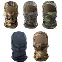 Outdooors Tactical Balaclava Full Face Mask Airsoft Multicolours
