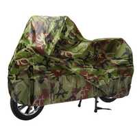 Motorcycle Bike Scooter Rain Dust Cover Protector Camouflage XL