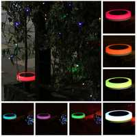 Remote Control Solar Power Colorful LED Christmas String Light Garden Lawn Holiday Decoration Lamp