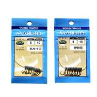 ZANLURE 10pcs/set #3-#5 Jig Head Hooks Fishing Lead Head Hooks Fishing Tackle