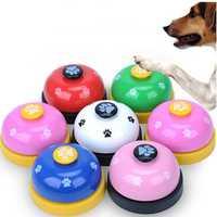 Pet Training Bell Pet Call Bell Dog Cat Feeding Ringer Educational Toy IQ Training Pet Toys