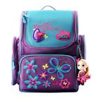 Les plus populaires 18L Girls Kids Cartoon School Bag Reflective Safety Waterproof Children Backpack With Doll Pendant
