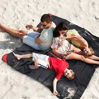 KCASA KC-HA800 180cm Outdoor Travel Camping Folding Picnic Handy Mat Portable Pocket Waterproof Beach Mat