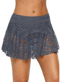 High Waist Skirt Swim Lace Bottoms Swimwear Panty
