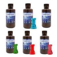 500g/Bottle Special Color 405nm UV Sensitive Resin Liquid Printing Material For Photon/LD-001 3D Resin Printer