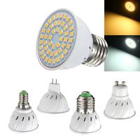 E27 E14 GU10 MR16 3W 48 SMD 2835 LED Pure White Warm White Spot Lightting Bulb AC110V AV220V