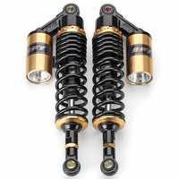 340mm 13.5inch Motorcycle Air Shock Absorber Suspension Damper For Honda/Yamaha/Suzuki/Kawasaki