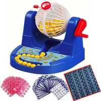 Mini Bingo Lottery Rotary Game Pocket Machine For Kids Families Fun Puzzle Desktop Party Toys