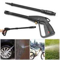 160bar M14 High Pressure Washer Spray Gun Car Wash Cleaning Lance Wand Kit