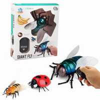 Infrared Ray Control RC Ladybug Fly Ladybird Bee Flying Animal Fun Novelties Toys Kid Gift Collection