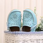 Offres Flash SOCOFY Big Size Women Casual Lace Up Loafers Breathable Floral Hollow Out Comfy Shoes