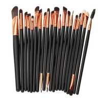 20Pcs Makeup Brushes Set Powder Eyeshadow Eyeliner Lip Cosmetic Brush Tool