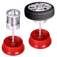 Portable Hubs Wheels Tire Balancer Bubble Level Heavy Duty Rim Car Tire Wheel Balancer Auto Tyre Balancing Machine