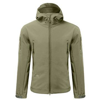 Men Camping Waterproof Windproof Skin Soft Shell Warm Coats Jacket