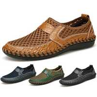 Menico Big Size Men Breathable Loafers Flats
