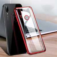 Bakeey Luxury Shockproof Elac-plating Transparent Hard PC Protective Case For Xiaomi Redmi 7 / Redmi Y3