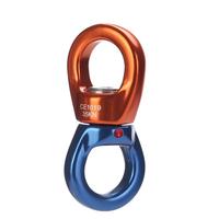 XINDA 8616 Outdoor Rock Climbing Universal Wheel Fixing Rotary Connector High Altitude Top Hang Hoop