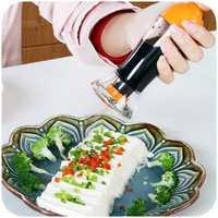 Spray Pump Barbecue Oil Sprayer Spraying Oil Bottle Sauce Vinegar Cruet Kitchen Cooking Tools