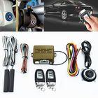 Recommandé Car Alarm System PKE Keyless Entry Push Button Engine Ignition Start Remote