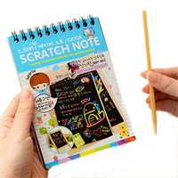 Fun Scratch Painting DIY Toy Big Blow Painting Children Educational Toys