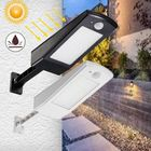 Les plus populaires Solar powered Motion Sensor 48 LED Street Light Waterproof Adujustable Wall Lamp for Outdoor Garden