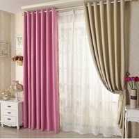 Honana WX-C13 Sky Star Blackout Curtains Thermal Insulated Grommets Drapes for Bedroom Decor