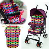 Baby Stroller Pram Pushchair Cushion Pad Thick Cotton Buggy Mat Cover